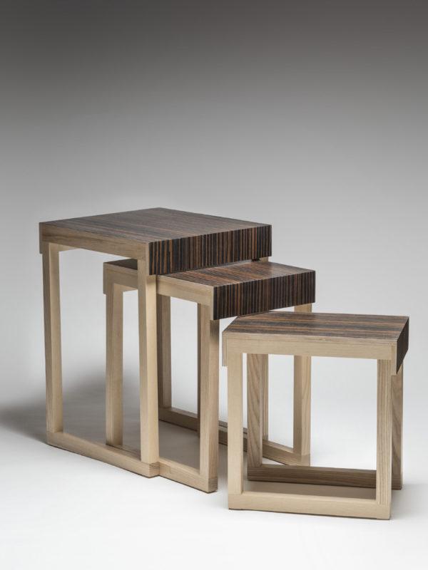Table gigogne Ébène - Gilles McInnis
