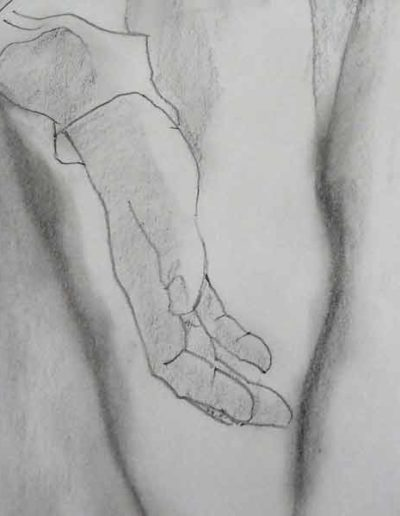 dessin-pour-sculpture--Vierge-(1)