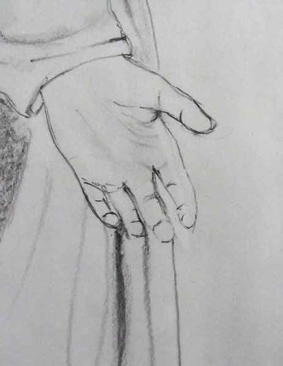 dessin-pour-sculpture--Vierge-(2)