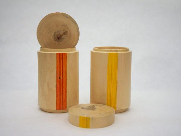 Boîte à thé en érable négondo - Gilles McInnis